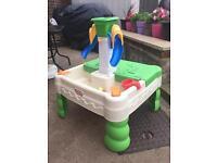 Sand / water activity tray
