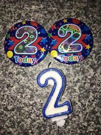 Free birthday accessories