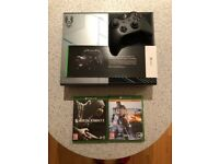 Xbox One - Halo 5 Limited Edition Console (1TB Storage + Extras)