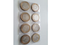 Rare Collection of £2 Coins In good clean condition