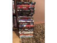 DVDs 50p each