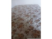 Single double bed mattress