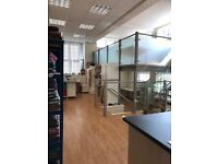 Two offices available in bright modern space in Leith