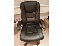 Computer chair - Black - Great condition