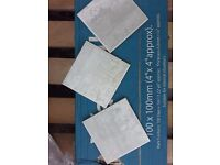 Metallic White .. Wall Tiles .. Bathroom / Kitchen .. 100 X 100 .. Brand New Boxed .. Cheap