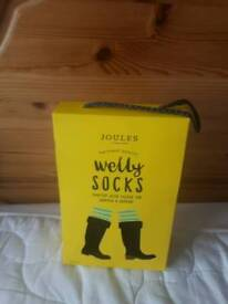 Joules ladies welly socks size 5/6