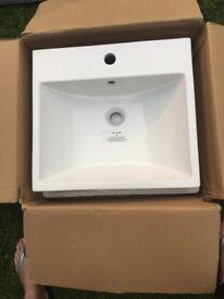 Brand new Bathstore sink