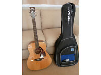 Yamaha FG700S Acoustic Guitar - Sold with robust carry case, Korg tuner and capo.