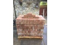 1850's Red Handmade Bricks
