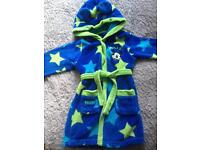 Disney Mickey Mouse dressing gown robe 18-24m