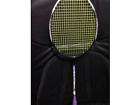 Apacs Super Series Master Badminton Racket - brand new strings which cost £25