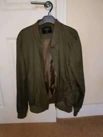 Green jacket large