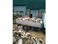 Seasoned firewood 2.5 cubic metre £140 full load or £75 half load