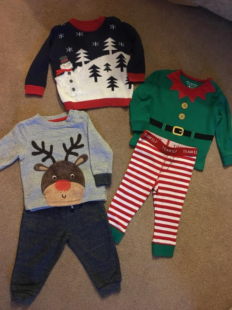 Baby Christmas Outfits 6-9 Months
