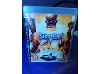 SAINTS ROW 2 for Playstation 3 plus free Game