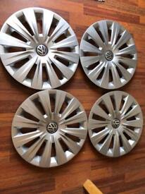 VW Golf wheel trims