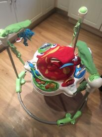 Fisher Price Rainforest Jumperoo - great condition all parts work
