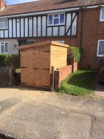 8 x 4 motor bike shed