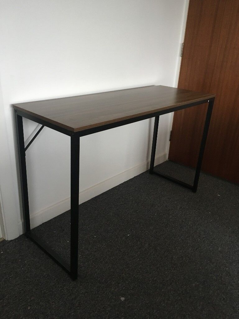 cherry tree furniture modern compact desk table computer workstation