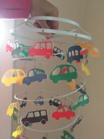 Cars ceiling light