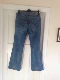 Ladies Levi jeans size 14, boot cut, never worn