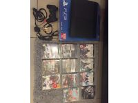 PS3 500gb with games and controller