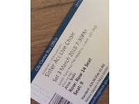 X 2 tickets for 'Sister act live choir'