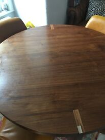 Round dining table from furniture village ( chairs not Included)