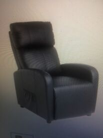 leather massage recliner chair.. PRICE DROP £100