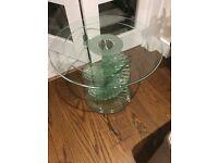 Artedi glass table