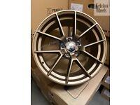"19"" BMW 763M M4 CS STYLE ALLOY WHEELS F30 F31 F32 F33 F36 E90 E91 E92 E93"
