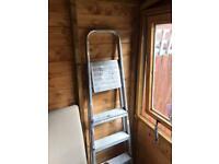 Big metal ladder