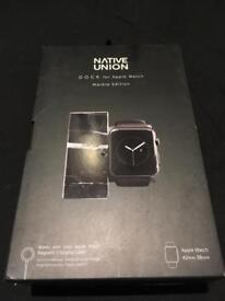 NATIVE UNION DOCK FOR APPLE WATCH, MARBLE EDITION (NEW)