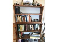Two separate bookcase shelving units (reduced!)