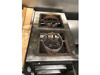 Double sided gas stove