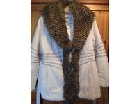 Duvet type coat