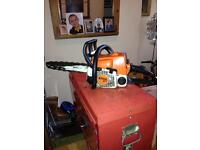 STHIL 017 PETROL CHAINSAW