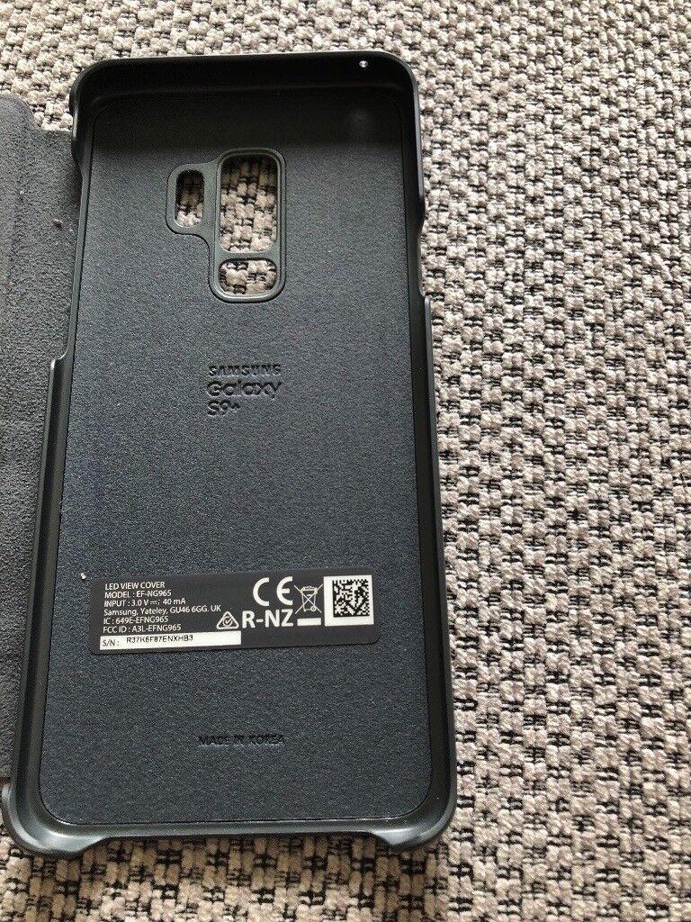 super popular 6af7f 661d6 Genuine Samsung S9+ LED view case | in Dundee | Gumtree