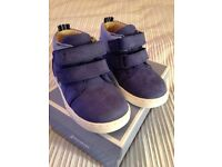 New Jacadi toddlers leather ankle boots - uk size 5/ euro size 22 - boxed