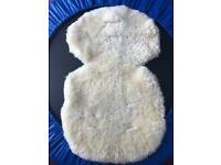 John Lewis lamb skin