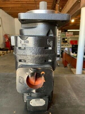 121124a2 Oem Case 580sl 580sm Backhoe Hydraulic Pump New 15 Tooth 323-9529-097