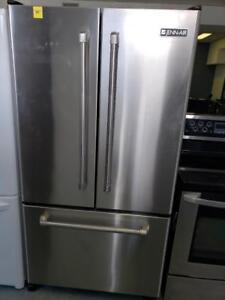 177- Refrigerateur Frigo JennAir 36'' Stainless 3 Portes 3 Doors Refrigerator Fridge
