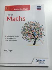How To Pass Higher Maths textbook