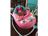 Minnie Mouse girls baby walker NEW