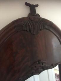 Beautiful Solid Mahogany Mirror