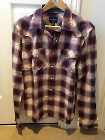 American Eagle long sleeve 'slim fit' check shirt - size medium