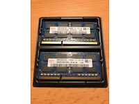 8GB (2 x 4GB modules) DDR3 RAM 1600MHz (SO-DIMM)