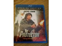 The Protector Blu-Ray (Jackie Chan) RARE Release