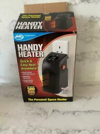 Handy heater. Great condition with instructions