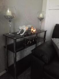 Glass furniture for sale